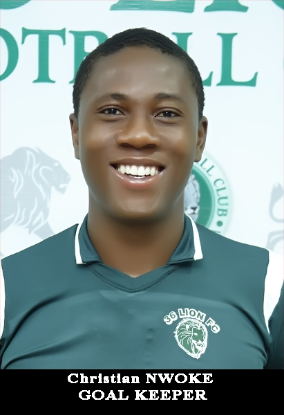 NWOKE CHRISTIAN-GOAL KEEPER-27.10.2000