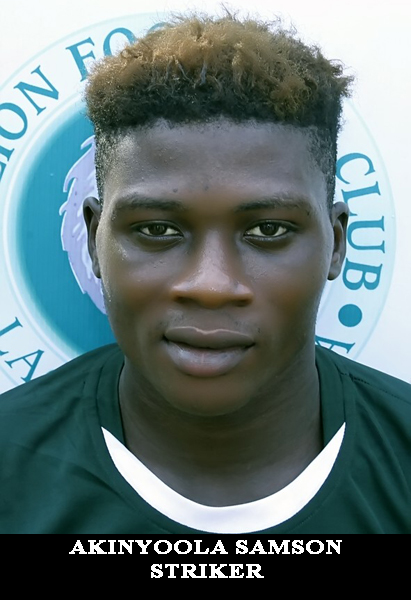 AKINYOOLA SAMSON-CENTER FOWARD-18.5.2000