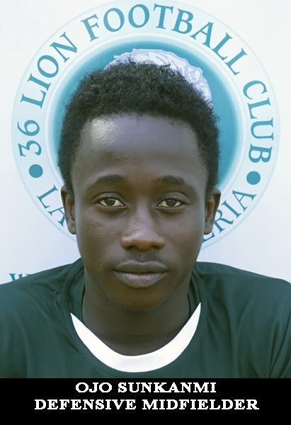 OJO SUNKANMI- DEFENSIVE MIDFIELDER-18.5.2000